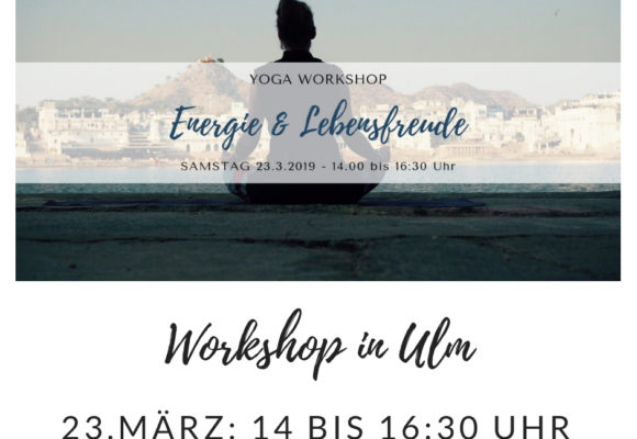 Yoga Workshop in Ulm 23.3.19